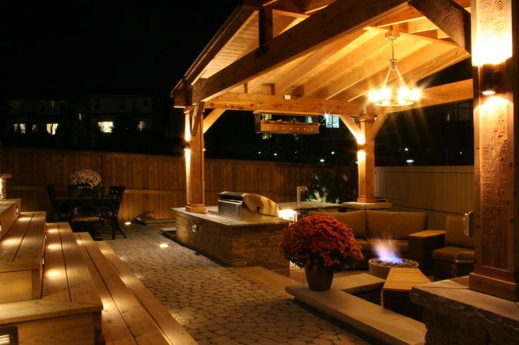 #backyard #fire #dream #firepit #firesource #yyc #landscaping www.anandalandscapes.com
