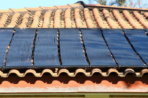 aquecedor solar com lixo eletrônico