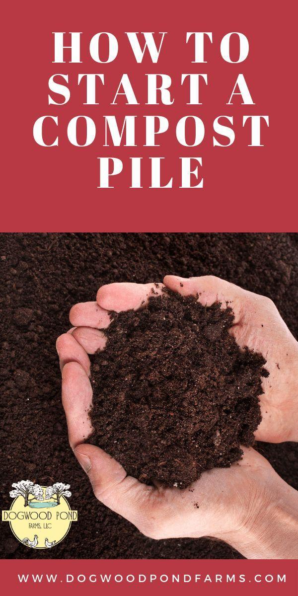 Comment démarrer une pile de compost, # Compost #Pile #Start
