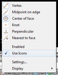 AutoCAD/LT 2014 and lower only: Status Bar Icons vs Text MENU
