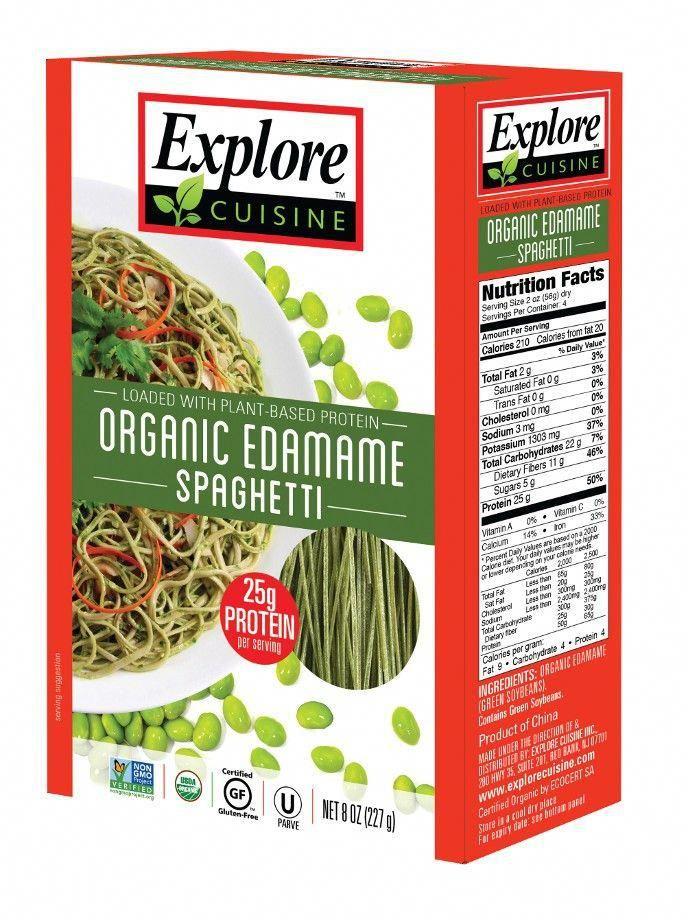 The Top 6 Health Benefits Of Organic Food Edamame Spaghetti