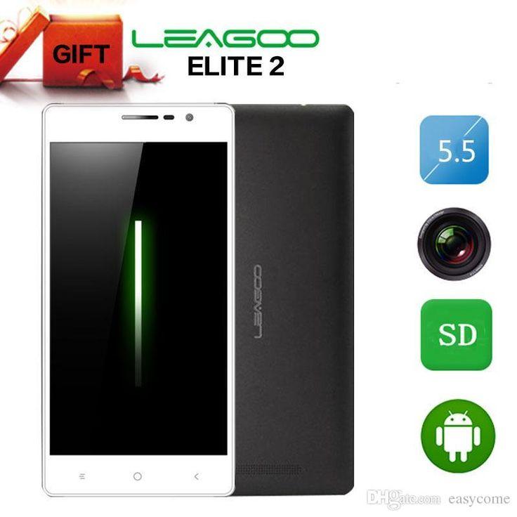 Top 10 Mobile Phones Leagoo Elite 2 Elite2 5.5 Mtk6592 Octa Core Cell Phone Android 4.4 3g Phone 13mp 2gb Ram 16gb Rom Unlocked Smartphone Android Gps