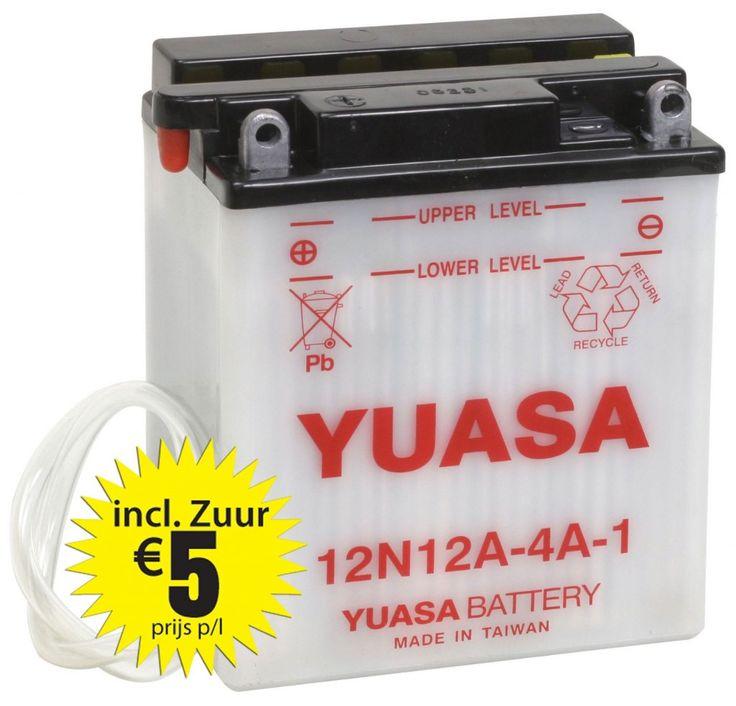 Yuasa 12N12A-4A-1 Conventional