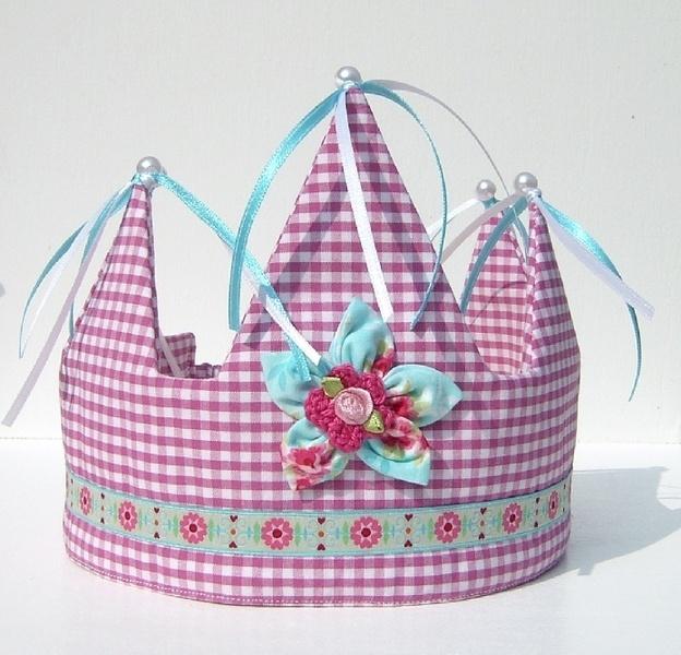 """Geburtstagskrone! Birthday crown!  Eigener Entwurf !!!    Wunderschöne Geburtstagskrone oder zum """"Prinzessin- oder Prinz-Spielen"""".    Es wurden nur hochwertige Stoffe und Materialien ve"""