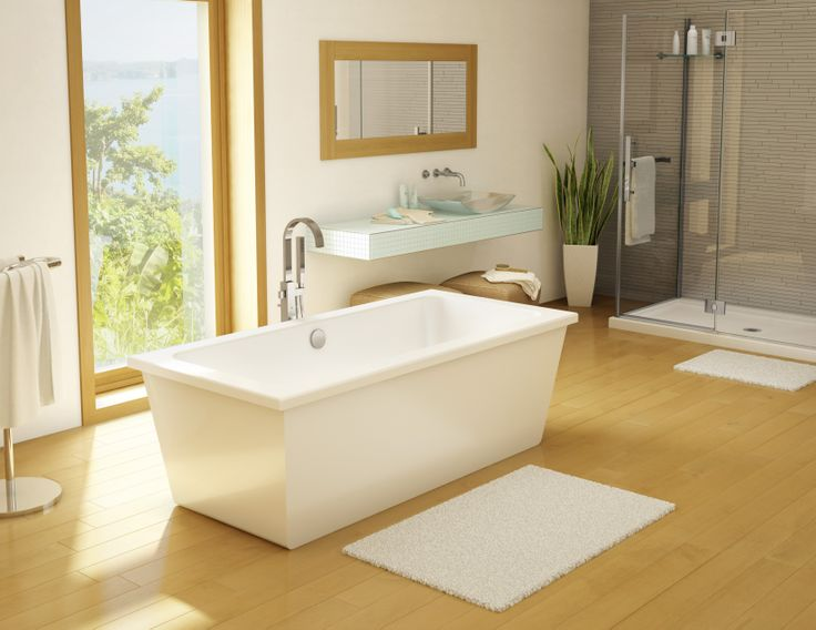 Legato tub in a spacious bathroom. 17 Best images about Tubs  Freestanding on Pinterest   Copper