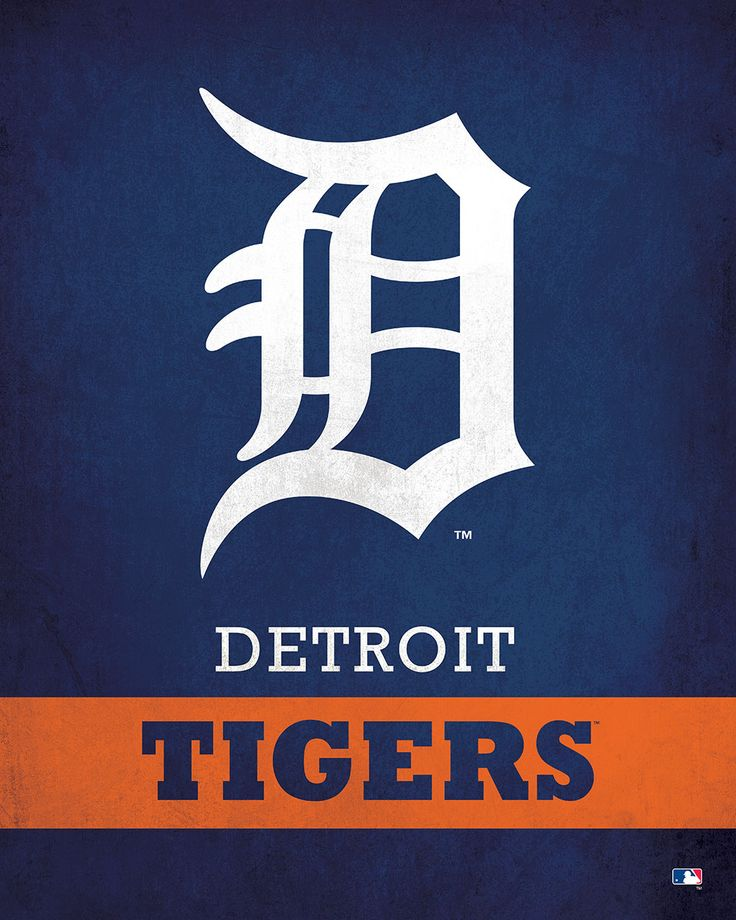 Detroit Tigers Logo $24.99