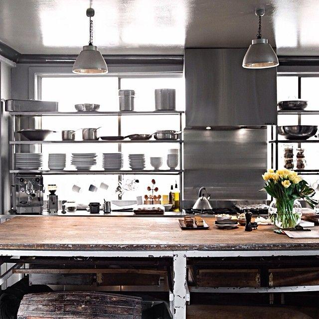 Vintage Loft Kitchen: 469 Best Kitchens (Industrial/loft) Images On Pinterest