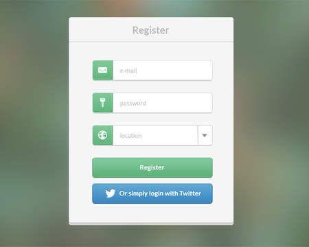 14 best Registration Form images on Pinterest Registration form - registration form