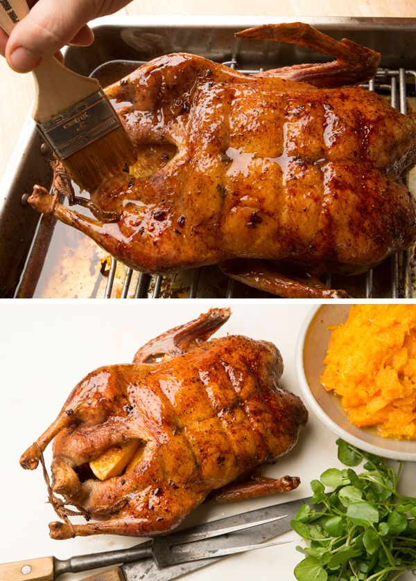 Recipe: Roast duck with orange and ginger || Photo: Fred R. Conrad/The New York Times