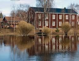 Pohjalaistalo. South - Ostrobothnia province of Western Finland. - Etelä-Pohjanmaa.