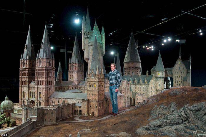 Le château de Poudlard : décor du film
