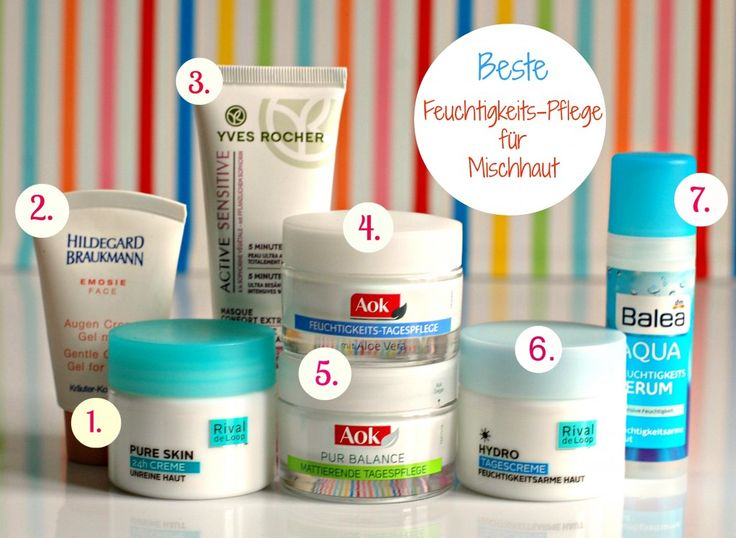 Best Products for oily & combination Skin :)