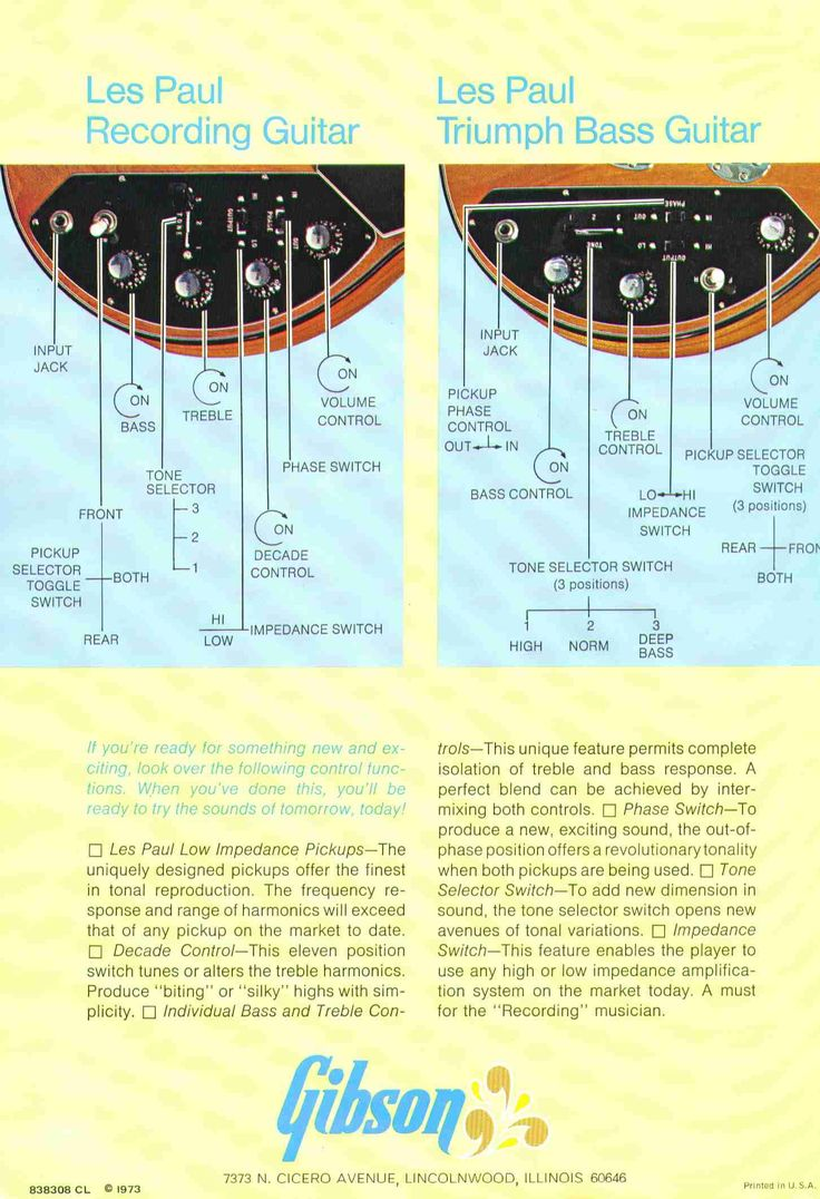 Les Paul Recording Wiring Diagram Free For You Impedance Switch Images Gallery