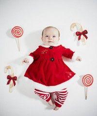 Wish | Children Kid Clothing Set Baby Girl Christmas Outfit Santa Xmas Costume 2 pcs