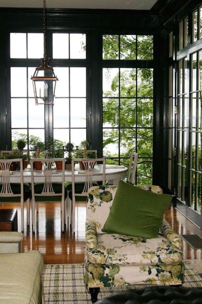 Elegant Sunroom Windows and Doors