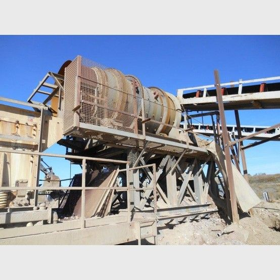 Telesmith Super Scrubber supplier worldwide | Used Telesmith 72 x 126 in. trommel scrubber for sale - Savona Equipment