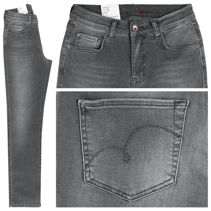 #Damen Angels Cici Jeans original grey, 04056674703835