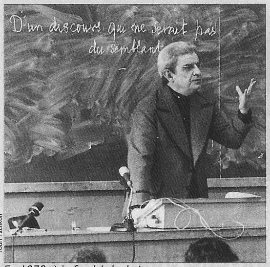 lacan theories Jacques lacan has proven to be an important influence on contemporary  critical theory, influencing such disparate approaches as feminism (through,.
