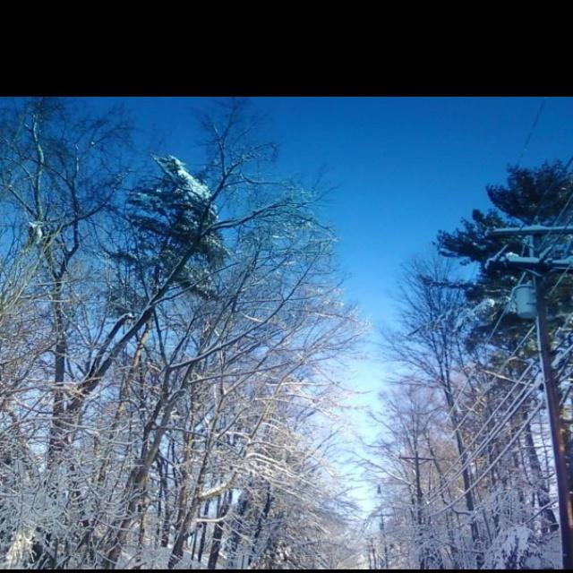 NJ snow storm