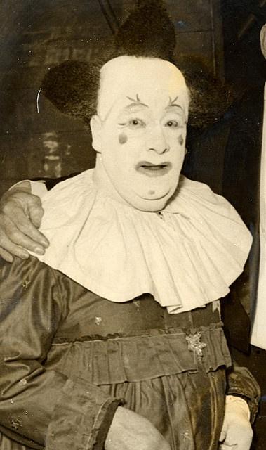 now that's a creepy clown