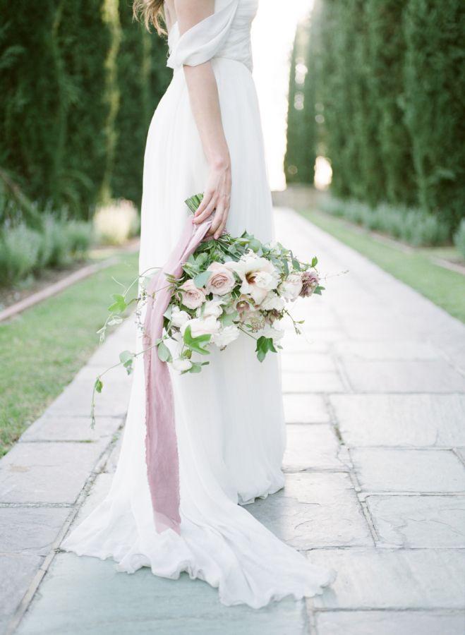Sweet summer garden bouquet: http://www.stylemepretty.com/california-weddings/beverly-hills/2016/06/03/the-only-secret-garden-wedding-inspiration-you-need-to-see/ | Photography: McCune Photography - http://www.mccune-photography.com/
