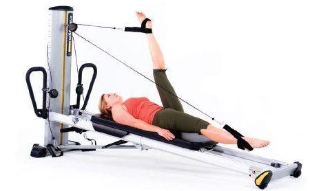 Te presentamos tres accesorios de #pilates que puedes incorporar a tu #GTS de Total Gym para llevar a cabo tus ejercicios en esta máquina de entrenamiento funcional