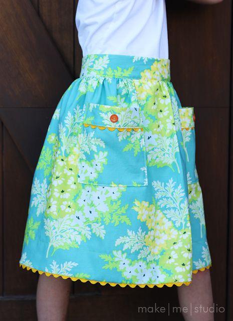 make me studio: Peasant Skirt