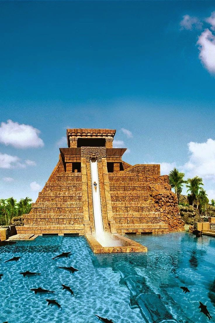 Water Slide Atlantis Bahamas Vacation ideasgreat place to go in off Season end of Sept