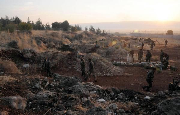Syria army in 'vast offensive' backed by Russian strikes
