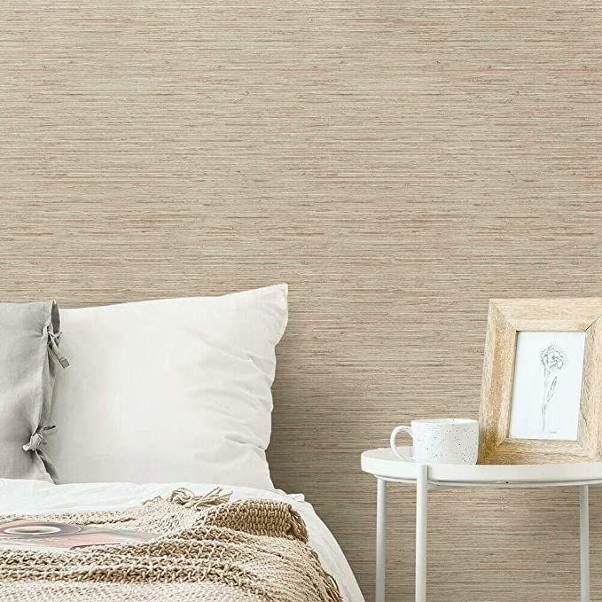 Roommates Grasscloth Peel Stick Wallpaper Grasscloth Wallpaper Grasscloth Peel And Stick Wallpaper