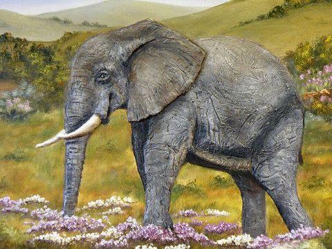 Art by Val - Addo Elephant