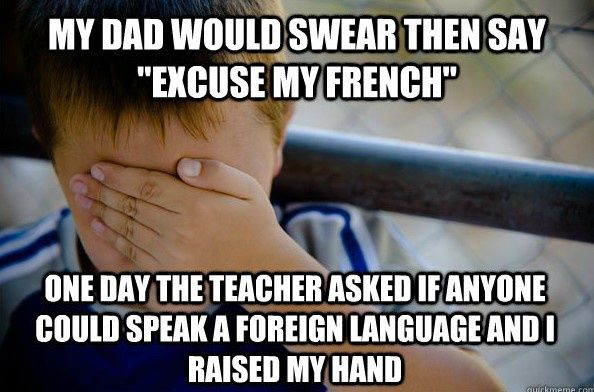 I Thought I Knew A Lot Of French....