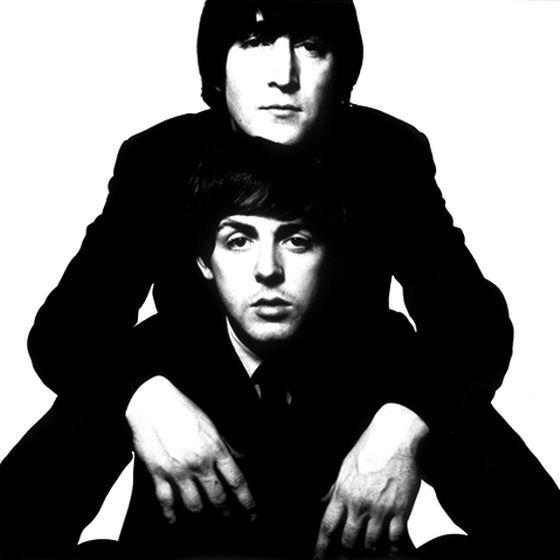 lennon/mccartney...need i say more.Photos, The Beatles, Davidbailey, Paul Mccartney, David Baileys, Doces Paul, Black On Black, Famous Portraits, John Lennon