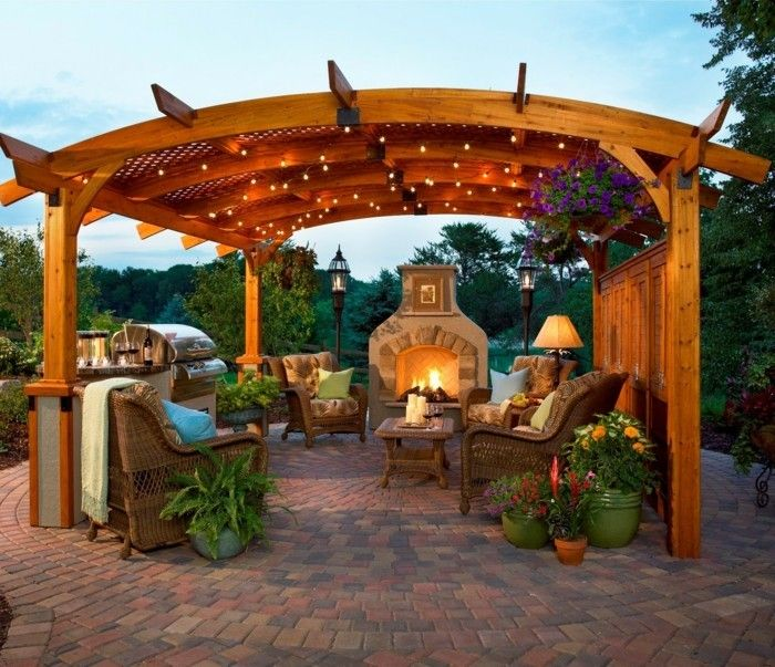 17 best ideas about pergola decorations on pinterest outdoor curtains porch furniture and. Black Bedroom Furniture Sets. Home Design Ideas