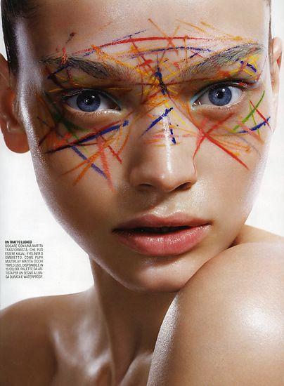 Colorful Margaryta » Eyeshadow Lipstick