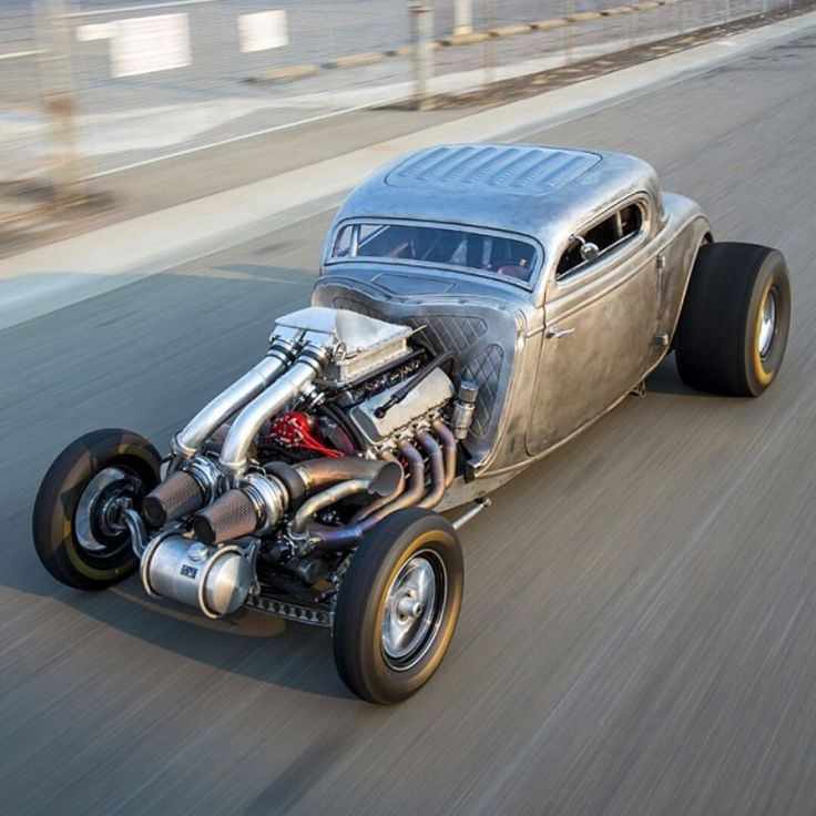 Twin Turbo Hotrod with #KNfilters