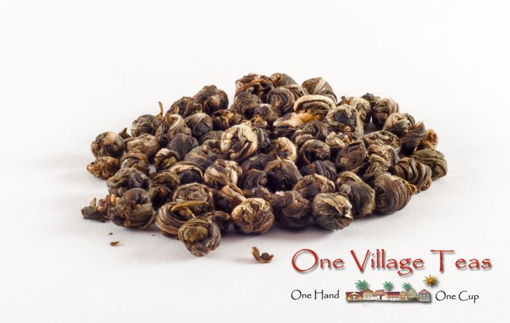 Delicate jasmine floral scents enjoyed with a sweet green tea. This tea has a flavour that is both soothing and beautiful.   Ingredient Highlights jasmine petals, green tea leaves  www.onevillageteas.com