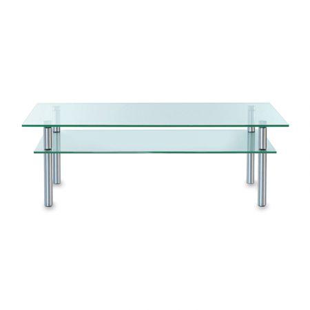 Salontafel glas rechthoekig Adele P