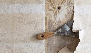 Mil Coisas - Para elas...: Como remover textura e papel de parede