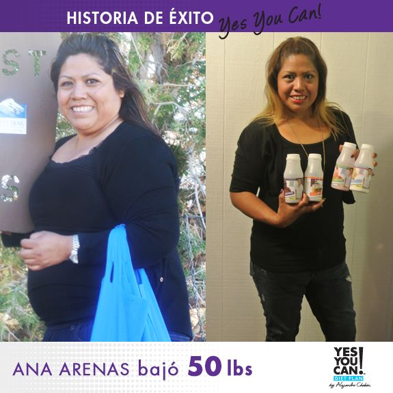 Ana Arenas another Yes You Can! Diet Plan Success Story ...
