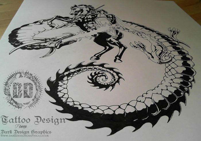 tatoos ideas learn st george flag tattoo designs. Black Bedroom Furniture Sets. Home Design Ideas