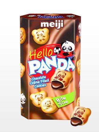Meiji Hello Panda de Crema de Chocolate | Nueva Presentación