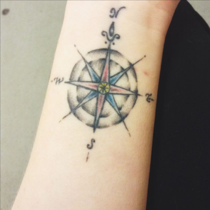 Pictures Of Compass Tattoo Wrist For Men Rock Cafe