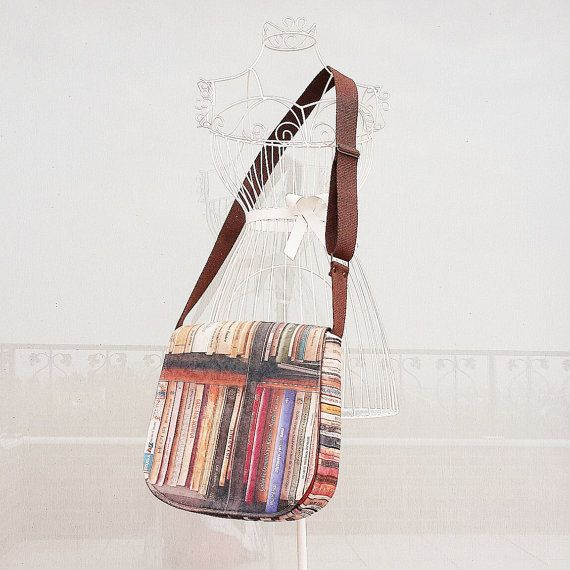 Check out this item in my Etsy shop https://www.etsy.com/listing/204534898/old-books-prints-messenger-bag-eco