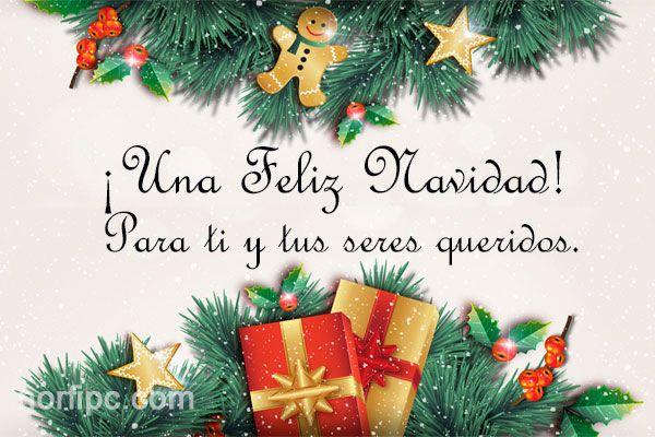 ¡Una Feliz Navidad para ti y tus seres queridos! Que no te falte salud, dinero y sobre todo que recibas mucho amor.