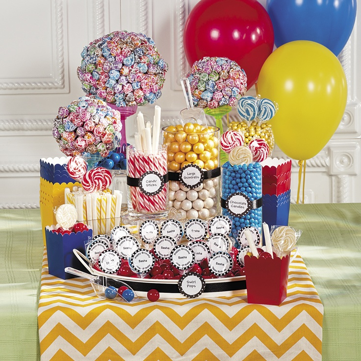 34 best Candy Buffet Ideas images on Pinterest | Buffet ...
