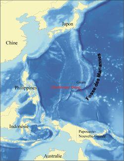 Fosse des Mariannes — Wikipédia