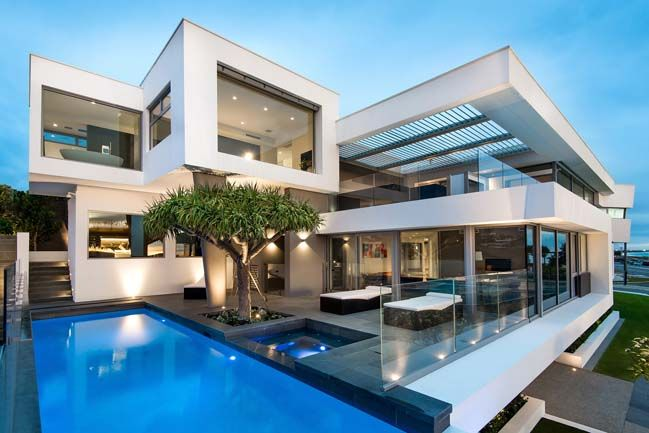 Luxury villa in Perth by Hillam Architects♥