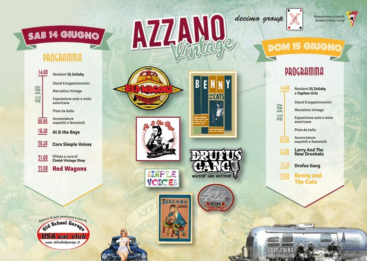 Depliant Azzano Vintage https://www.facebook.com/azzanovintage?fref=ts