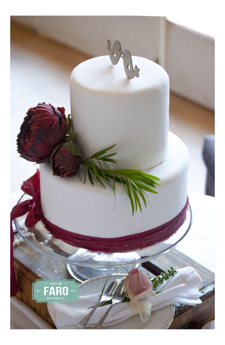 Boho Inspired Wedding Cake